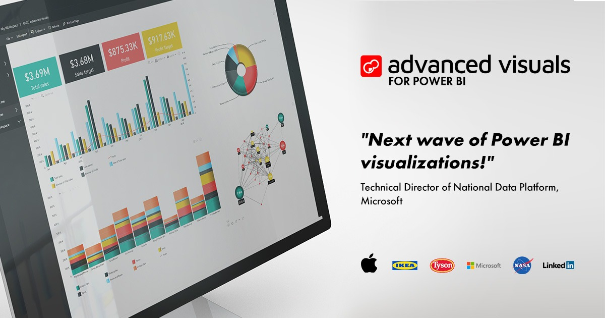 Advanced Custom Visuals for Microsoft Power BI - ZoomCharts